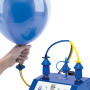 Inflate Double Bubbles with the Double Bubble Outlet.
