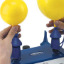 Inflate two balloons to different sizes.