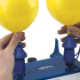 Inflate two balloons to the same size.