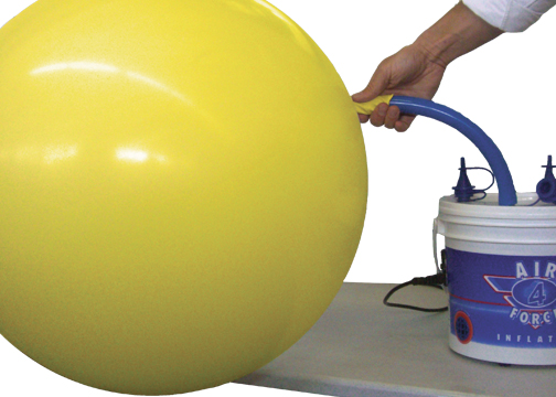 Inflate large balloons FAST with the Large Balloon Inflation Hose.