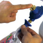 Automatically inflate Bubbles® and Deco Bubbles® to the correct pressure and size.