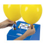 "Inflate 9"" balloons and larger."