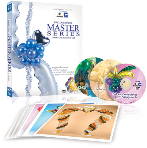 Master Series Balloon Decor DVD Set | ConwinOnline