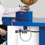 Remote Helium Systems – Under Countertop Outlet Option